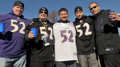 10df2407d9d CBS telecast missed the story of fans' love for Ray Lewis Sunday - Baltimore  Sun