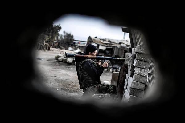 Clashes in Aleppo, Syria