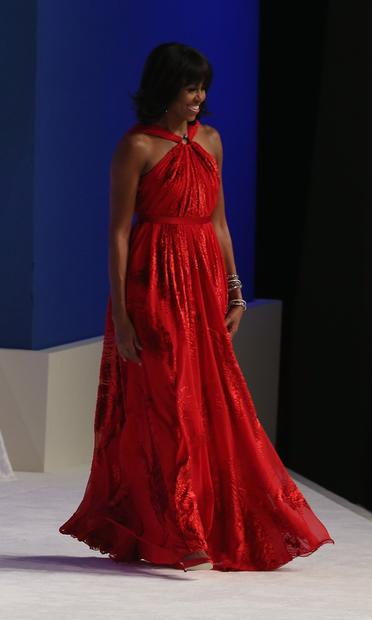 First Ladies Inauguration Gowns La Times