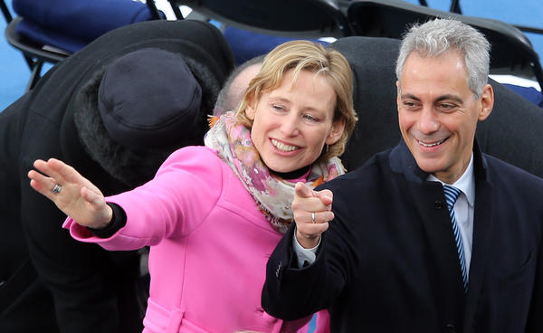 Rahm Emanuel Closed Out Inauguration Day With Private