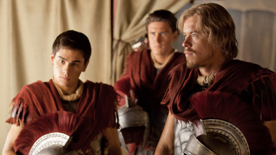 spartacus war of the damned caesar and tiberius chicago