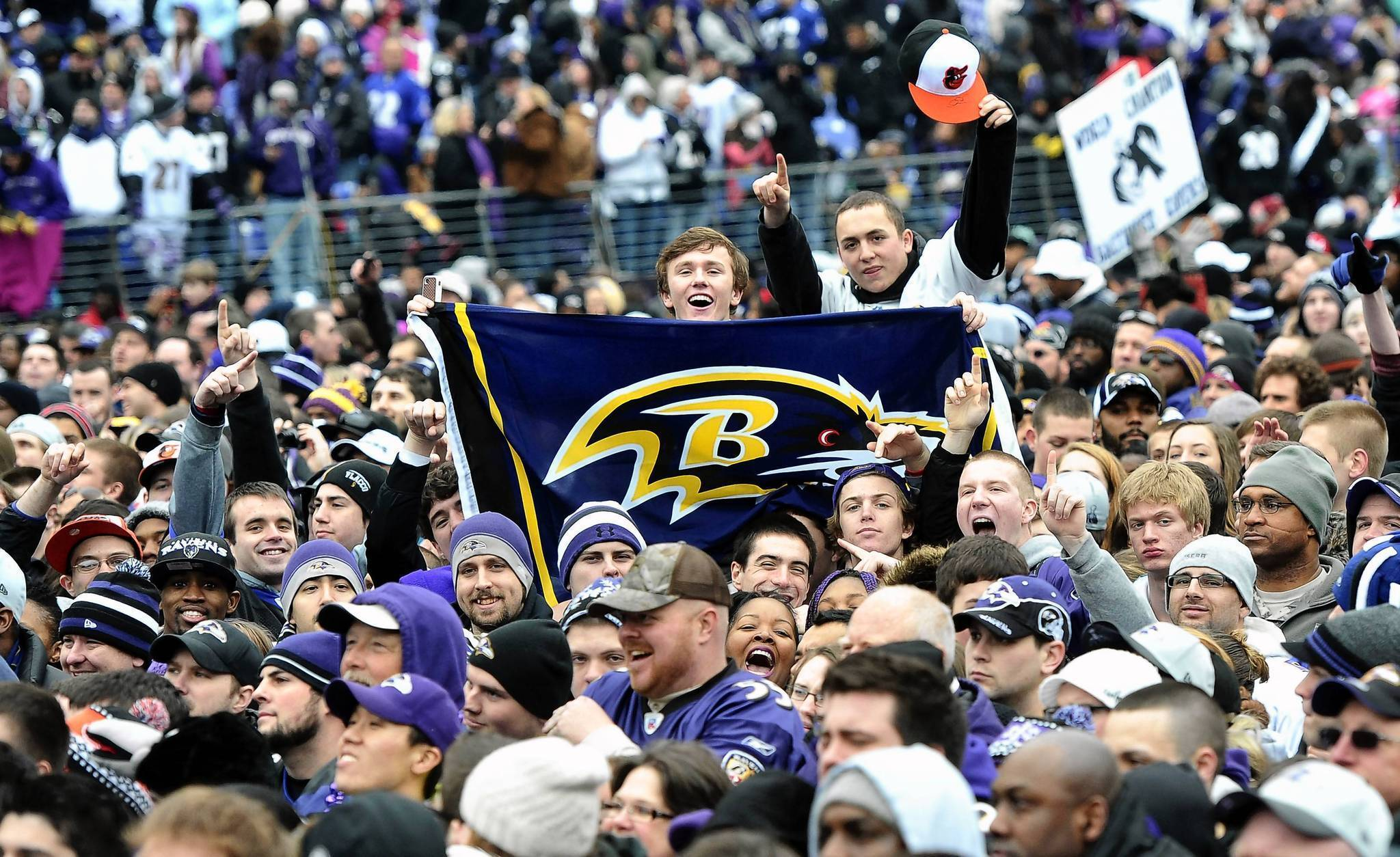 3d9f584a7cf Baltimore boasts two postseason teams — the Ravens and Orioles — for the  first time in 42 years - Baltimore Sun