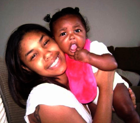Image: Eddy Curry's ex-girlfriend Nova Henry and daughter Ava Curry