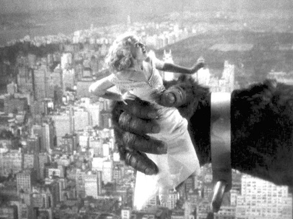 Fay Wray in the 1933 'King Kong' - LA Times