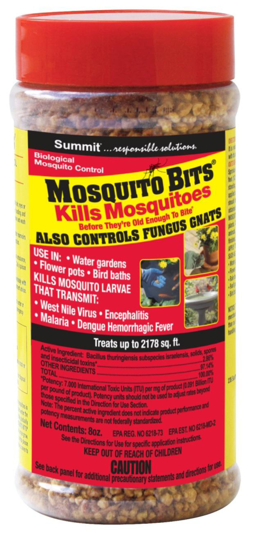 Fungus Gnats: Mosquito Bits Also Control Unwanted Pests In
