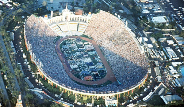 The Coliseum was among the venues at the 1984 Olympics.
