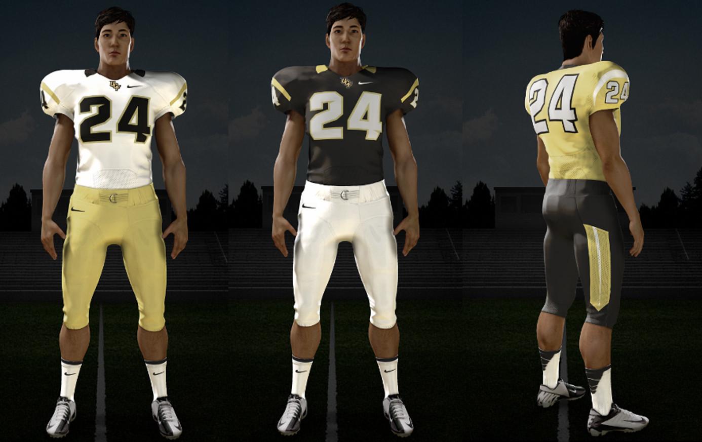 New UCF football uniforms - Orlando Sentinel