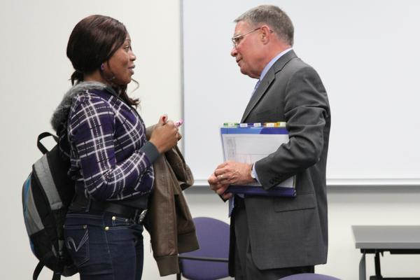 Harper College President Imparts Leadership Lessons