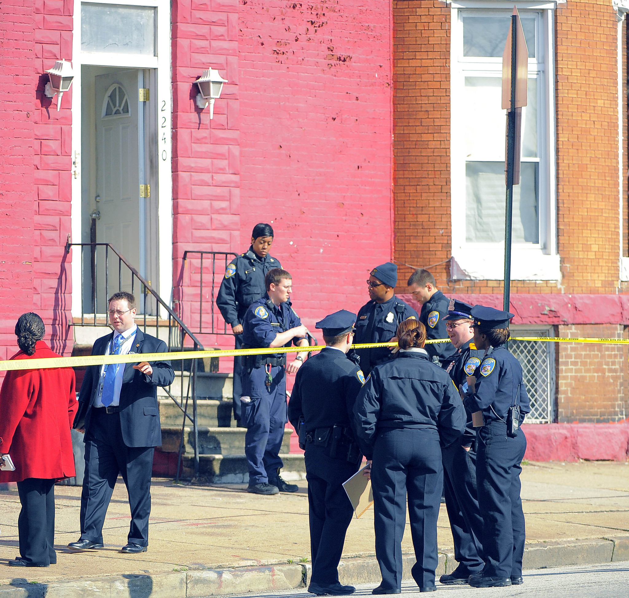 School Shooting Today In Baltimore: Baltimore Homicide Detectives Investigate Triple Fatal