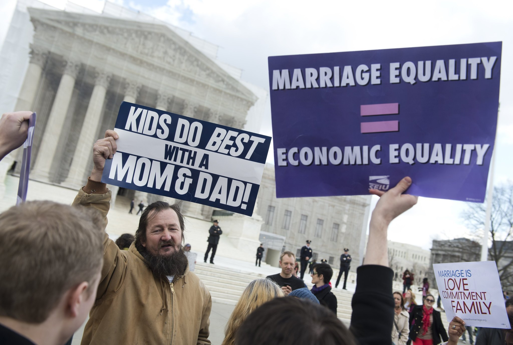 An argument in favor of gay couples right to adopt