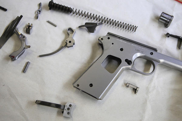 For gunsmith, a full-bore interest and a high gauge of