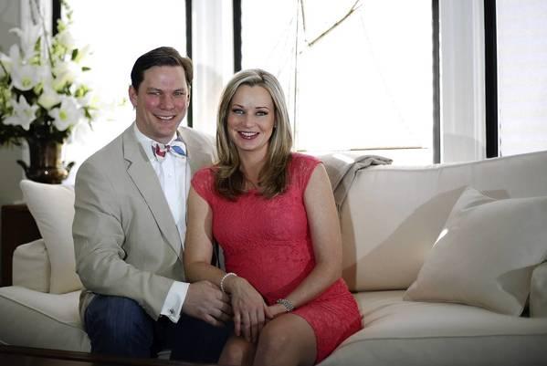 Sandra Smith with husband John Connolly
