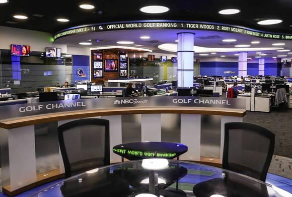 "Golf Channel Debuting New ""Newsroom"" Set; Staffers Prepare ..."