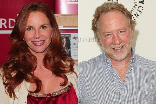 Melissa Gilbert marries Timothy Busfield, bride wears red ...