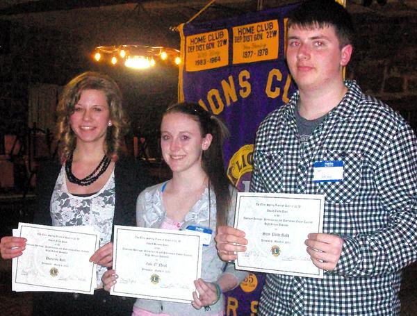 Winners of inaugural essay