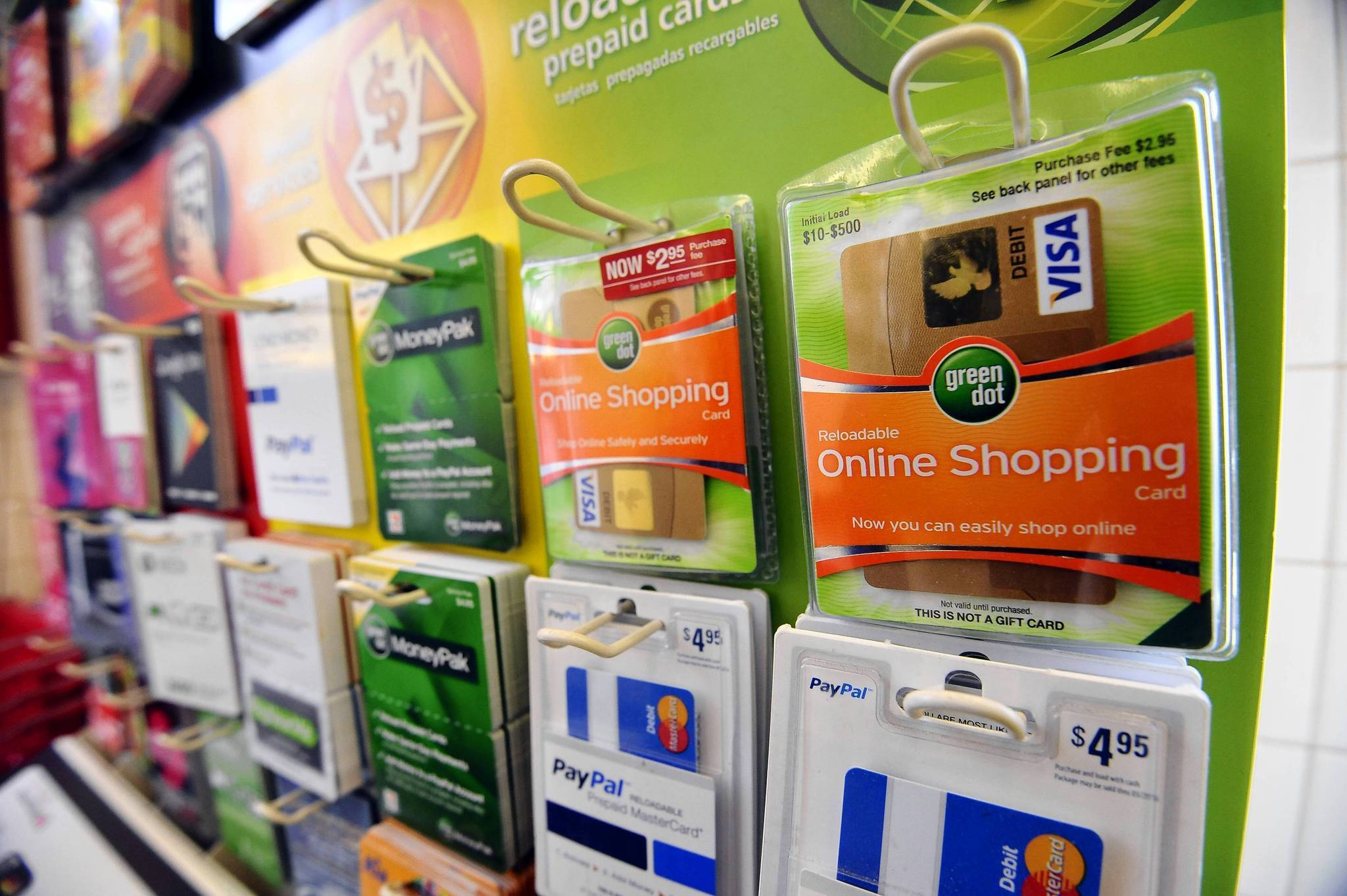 Pre-paid 'Green Dot' cards, phones and codes become inmates