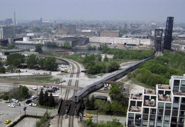 Metra Train Rock Island Line