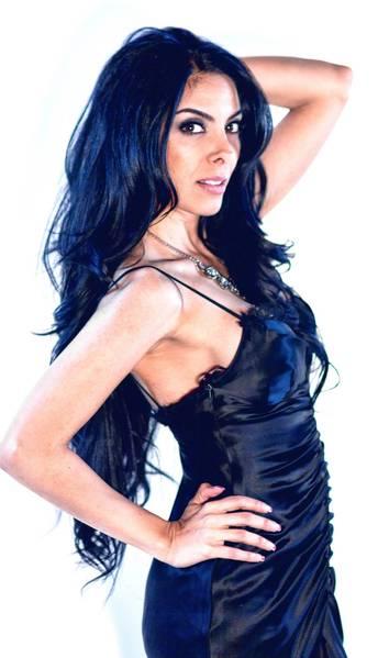 Topless female dj girl