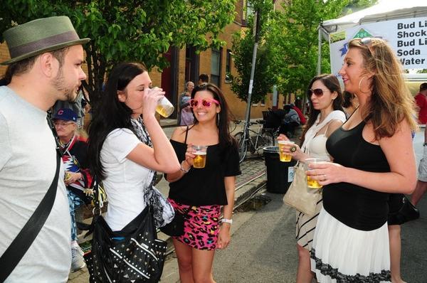 Sheffield Music Festival Garden Walk: Randolph Street Market Outdoor Debut And Belmont-Sheffield