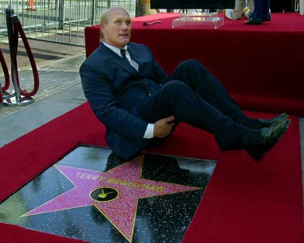 Terry Bradshaw's star on Hollywood Walk of Fame