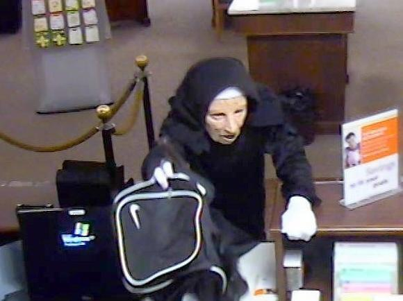 Woman Who Robbed Bank In Nun Costume Gets 7 1/2 Years