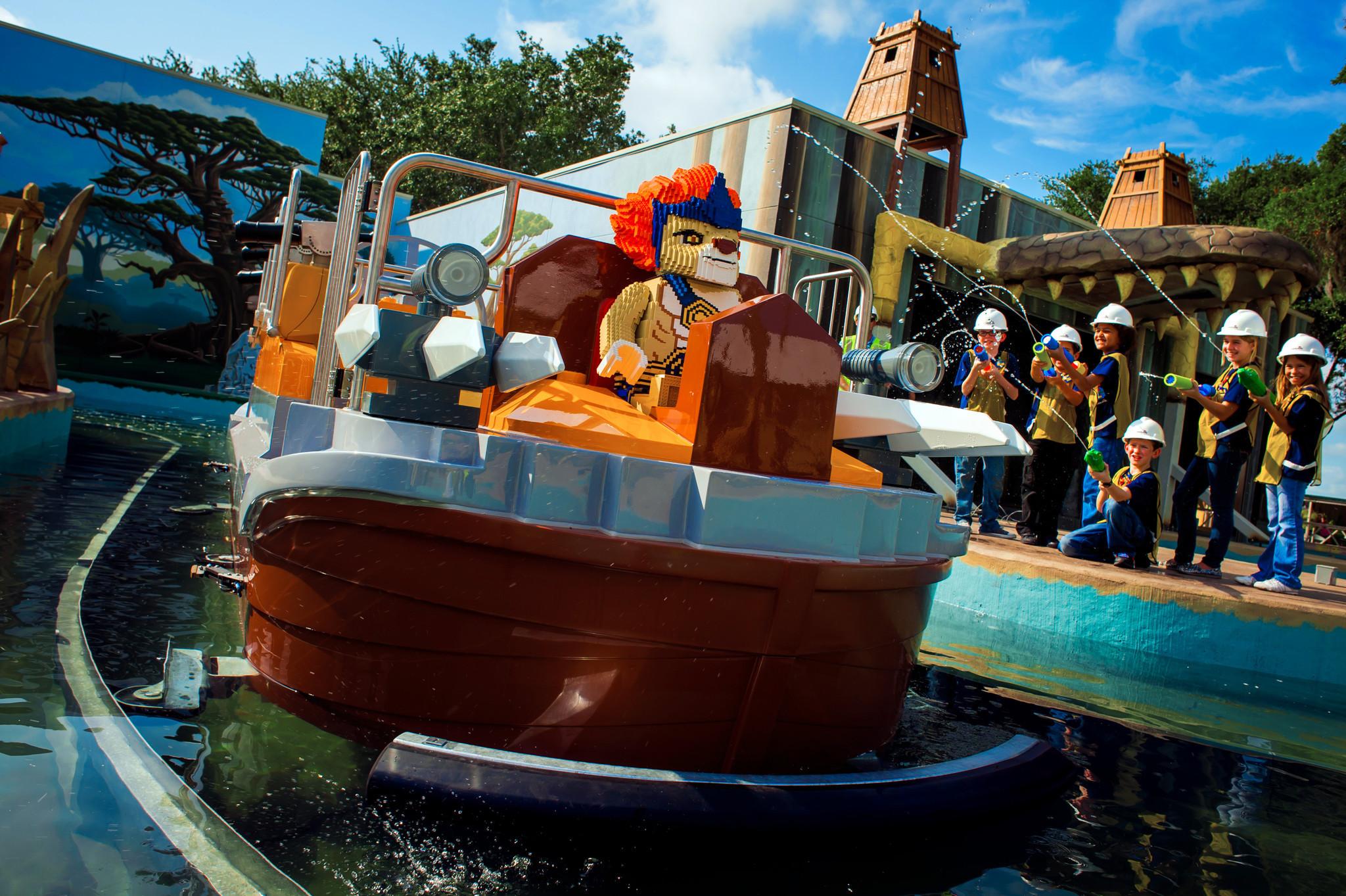 Legoland Florida christens World of Chima ride - Orlando ...