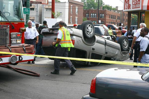 7 Injured In South Side Crash Involving Police Car
