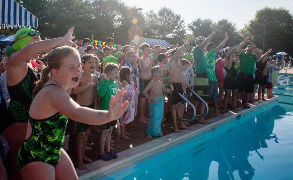 columbia swim league city meet 2013 spike