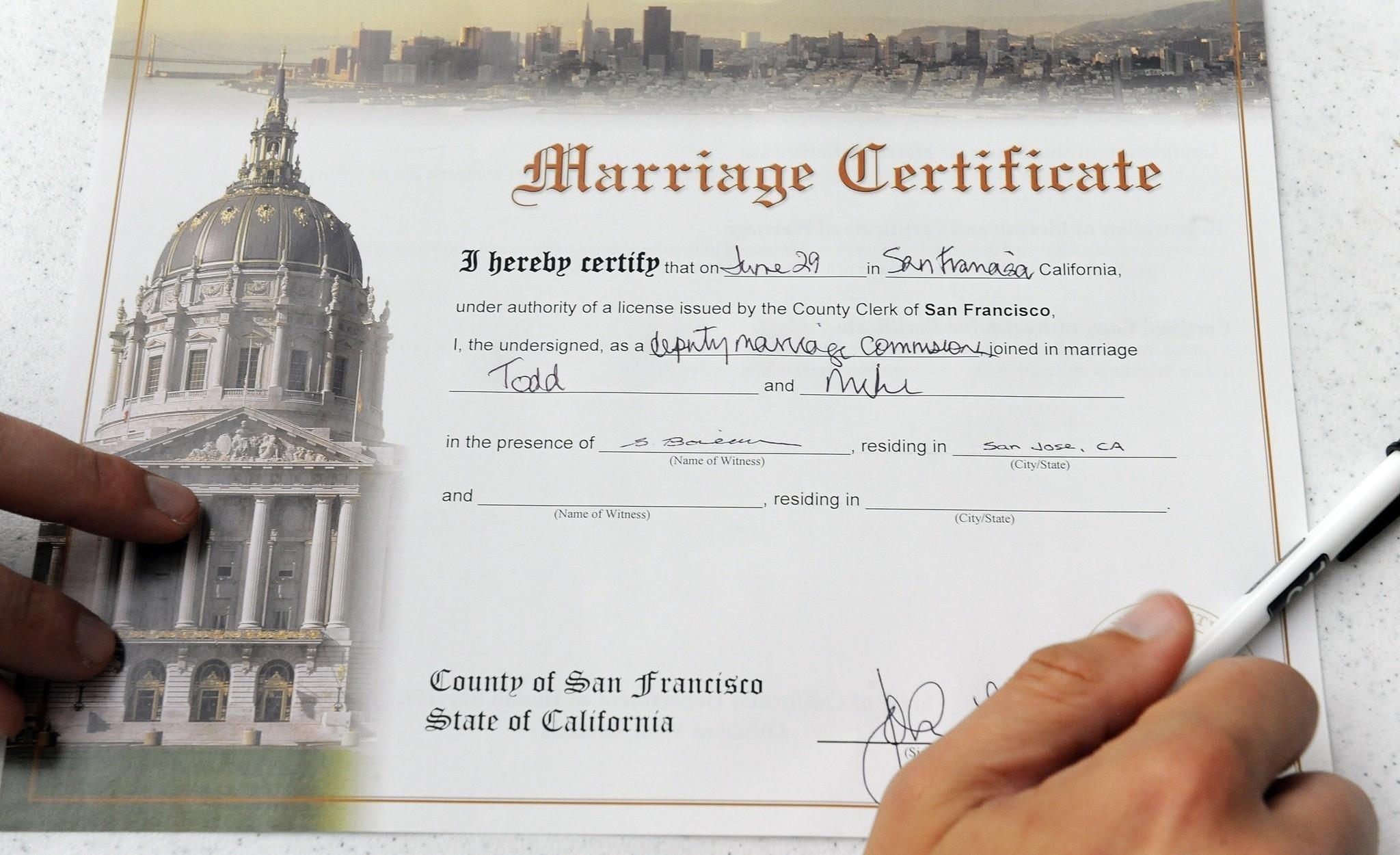 La Times Gay Marriage 40