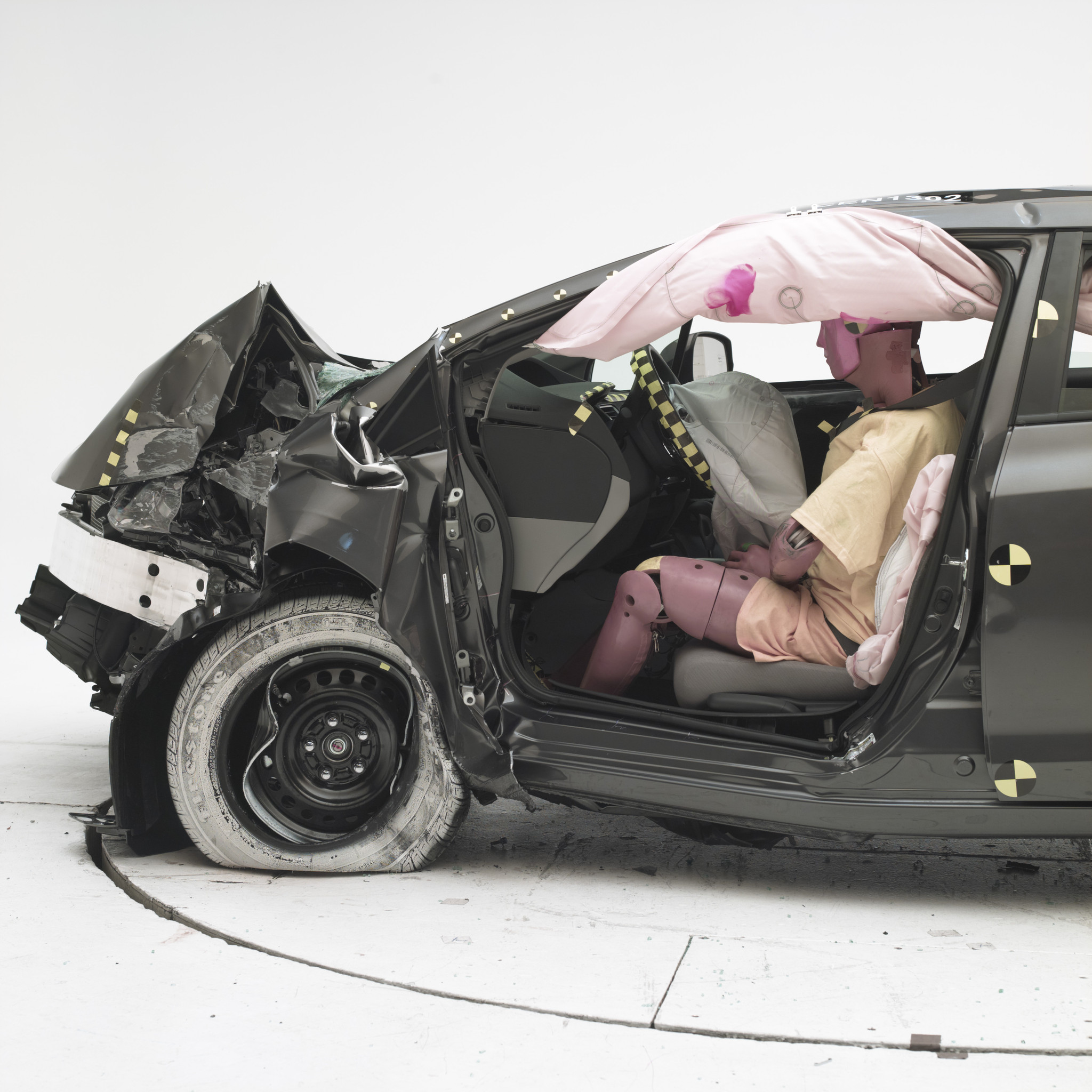 Cars After Crash Test