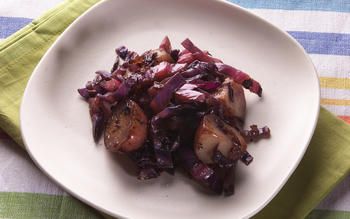 Debashish Banerji's potatoes with cabbage