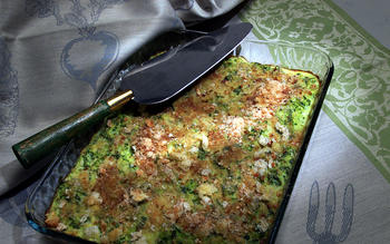 Zucchini Gratin With Goat Cheese