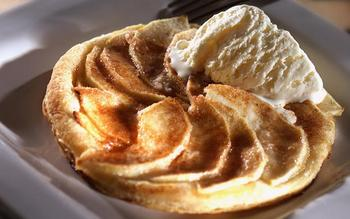 The Simplest Apple Tart