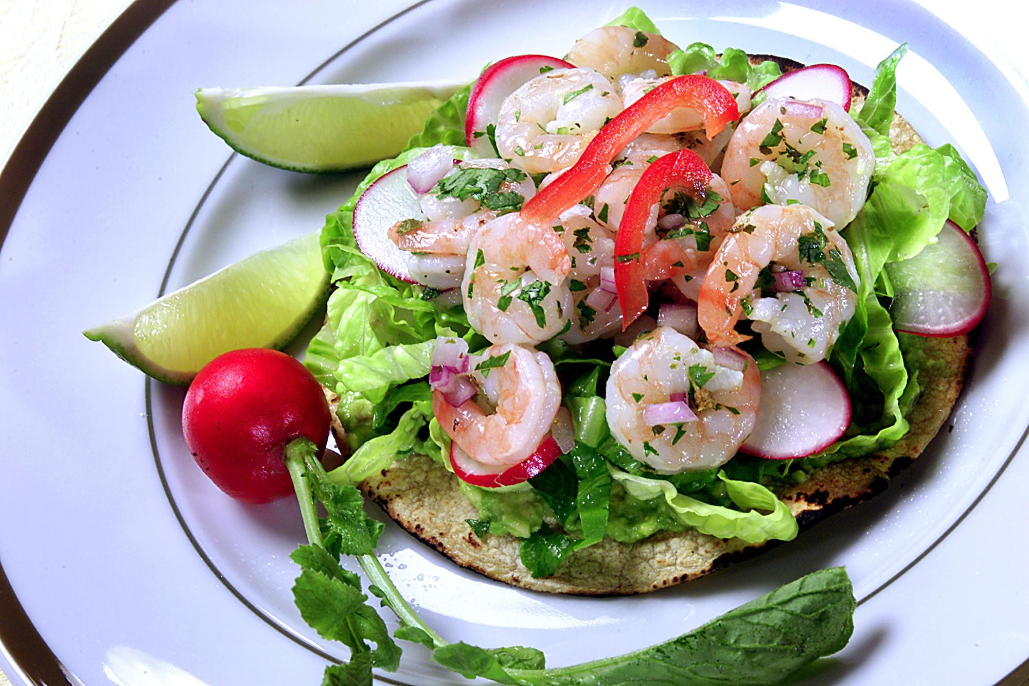 Recipe Shrimp Tostadas California Cookbook
