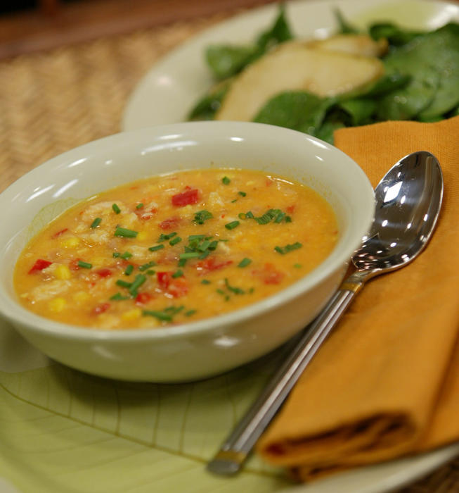 Corn and Crab Soup
