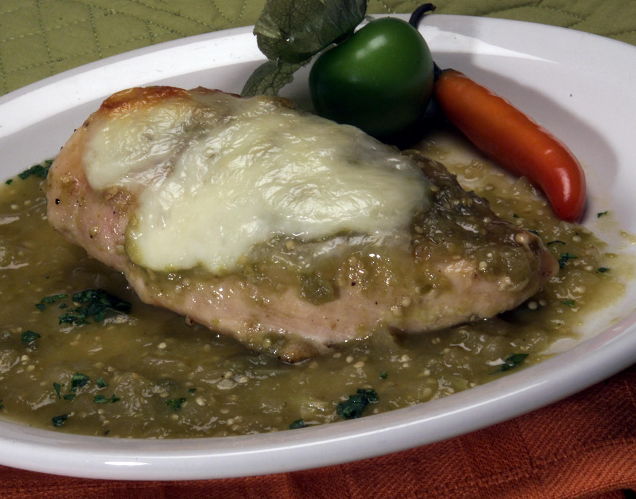 Recipe Baked Tomatillo Chicken La Times Cooking
