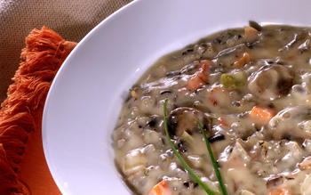 Cream of Minnesota Wild Rice Soup