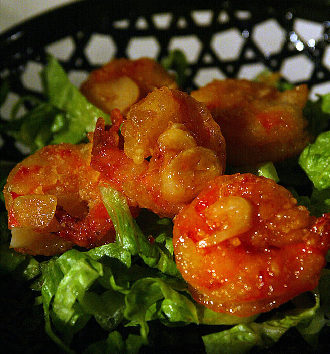 Genghis Cohen's Crackerjack Shrimp