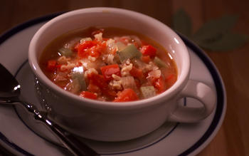 Louisiana-Style Chicken and Rice Soup