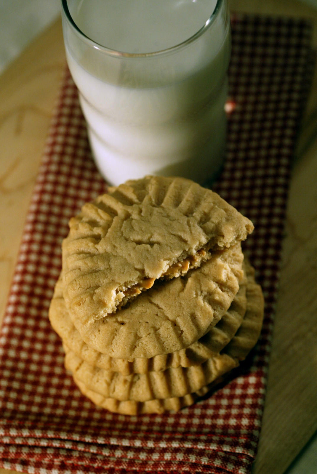 Recipe Double Peanut Butter Cookies La Times Cooking