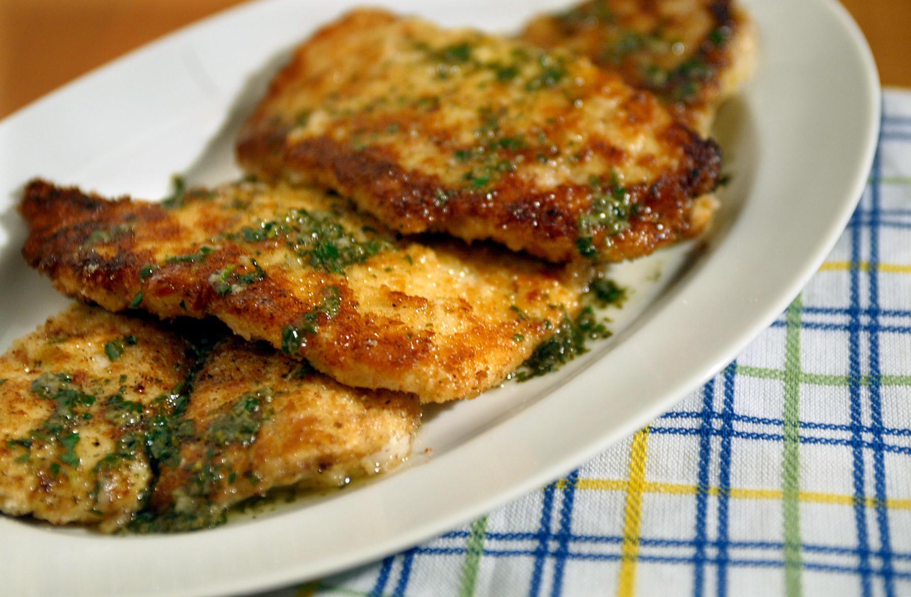 Pan Fried Fish Recipes Butter