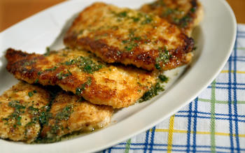 Pan-fried petrale sole