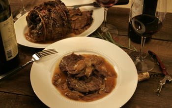Dario Cecchini's marrow-braised beef