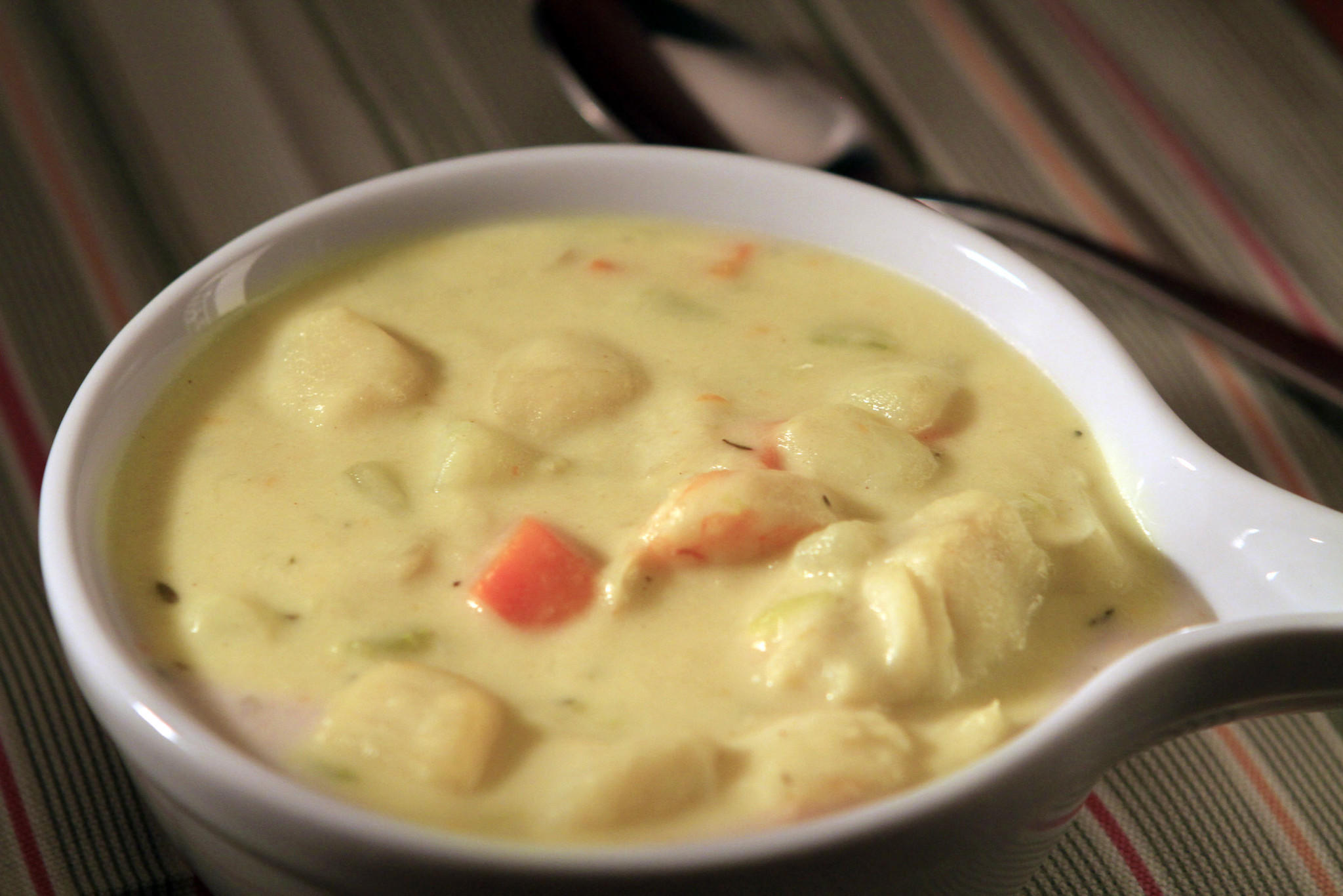 Durty Nelly's seafood chowder