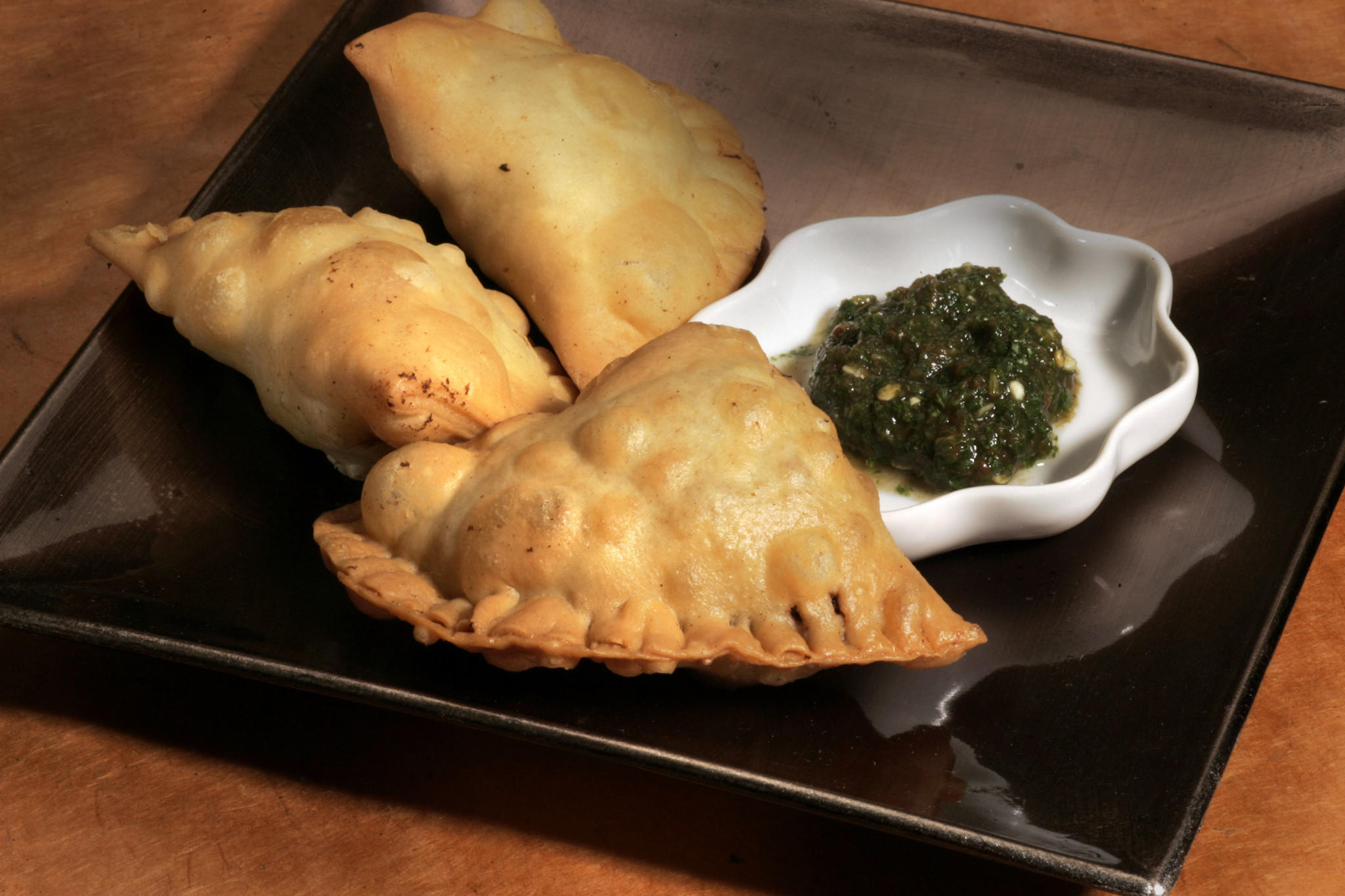 Ground lamb samosas (Keema samosa)