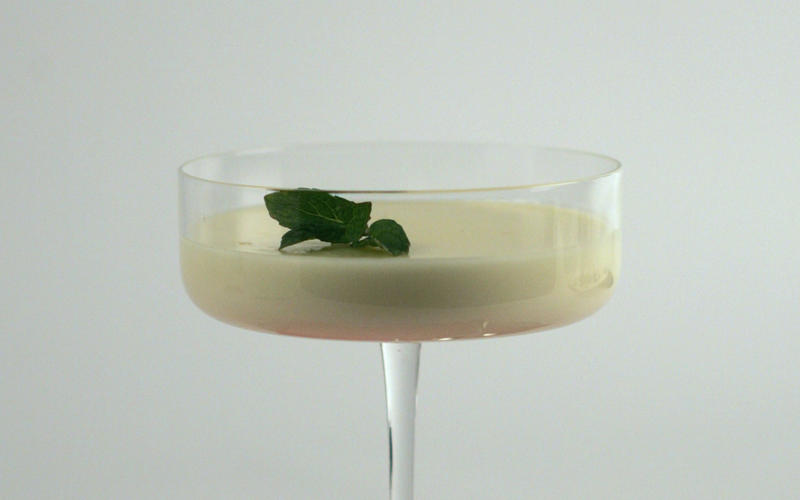 Meyer lemon posset