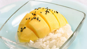 Mango and sticky rice
