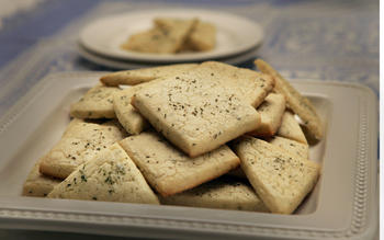 Rosemary/thyme cookies