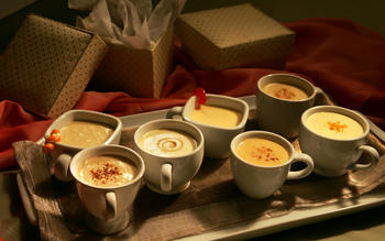 Heavenly eggnog (plus variations)