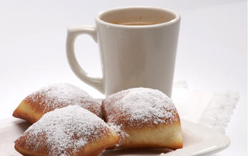 New Orleans-style beignets